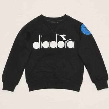 Diadora Black Sweatshirt - Diadora 26966-nero-diadora21