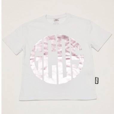 GCDS mini T-Shirt Bianca Bambina - GCDS mini 27676-gcdsmini21