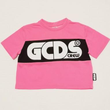 GCDS mini T-Shirt Unisex Cropped - GCDS mini 027608fl-gcdsmini21