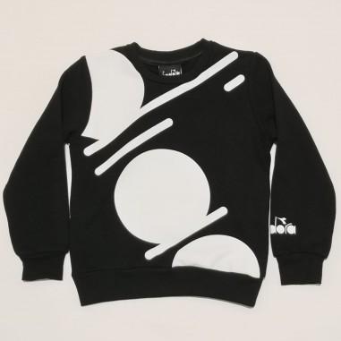 Diadora Black Sweatshirt - Diadora 26980-nero-diadora21