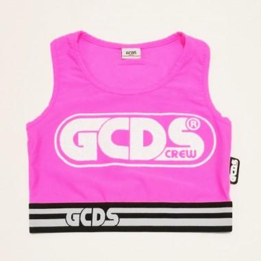 GCDS mini Canotta Bambina - GCDS mini 027659fl-gcdsmini21