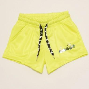 Diadora Yellow Shorts - Diadora 27357-giallo-diadora21