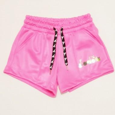 Diadora Shorts Triacetato - Diadora 27357-fucsia-diadora21