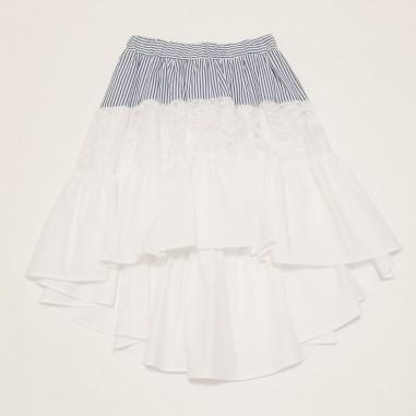 Monnalisa Flounced Skirt - Monnalisa 117704-monnalisa21