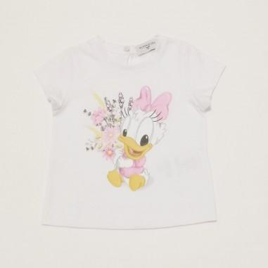 Monnalisa T-Shirt Bouquet - Monnalisa 317616pf-monnalisa21