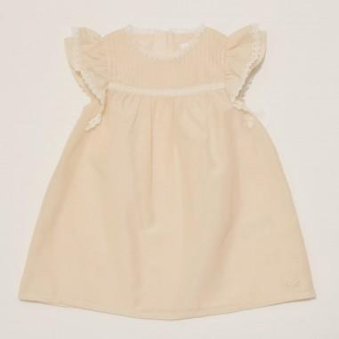 Chloé Kids Pink Baby Girls Dress - Chloé c02287-chloe21