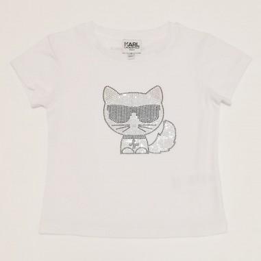 Karl Lagerfeld Kids T-Shirt Bianca - Karl Lagerfeld Kids z15300-karllagerfeldkids21
