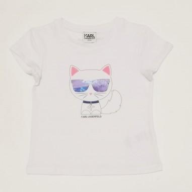 Karl Lagerfeld Kids T-Shirt Bianca - Karl Lagerfeld Kids z15302-karllagerfeldkids21