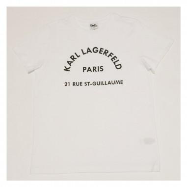 Karl Lagerfeld Kids T-Shirt Bianca - Karl Lagerfeld Kids z25272-bianco-karllagerfeldkids21