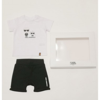 Karl Lagerfeld Kids T-Shirt & Shorts - Karl Lagerfeld Kids z98076-karllagerfeldkids21