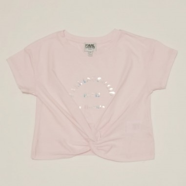 Karl Lagerfeld Kids T-Shirt Rosa - Karl Lagerfeld Kids z15303-karllagerfeldkids21