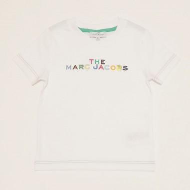 Little Marc Jacobs T-Shirt Bianca - Little Marc Jacobs w25467-bianco-littlemarcjacobs21