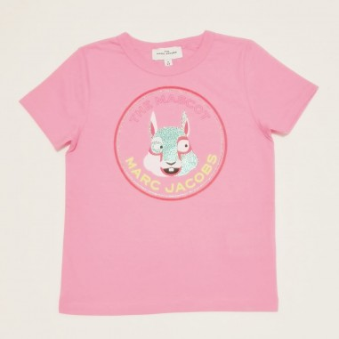 Little Marc Jacobs T-Shirt Rosa - Little Marc Jacobs w15541-littlemarcjacobs21