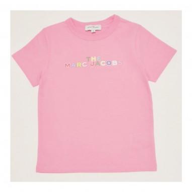 Little Marc Jacobs T-Shirt Rosa - Little Marc Jacobs w15543-littlemarcjacobs21