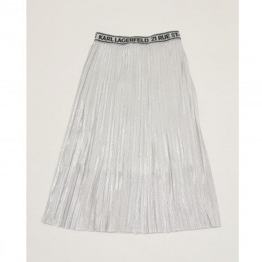 Karl Lagerfeld Kids Grey Skirt - Karl Lagerfeld Kids z13070-karllagerfeldkids21