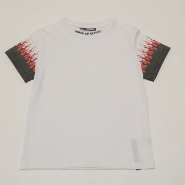 Vision of Super White T-Shirt - Vision of Super voskw1double-vos21