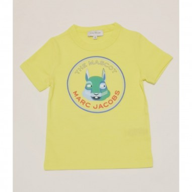 Little Marc Jacobs Yellow T-Shirt - Little Marc Jacobs w25464-giallo-littlemarcjacobs21