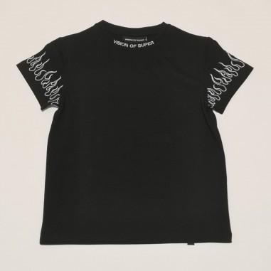 Vision of Super T-Shirt Nera - Vision of Super voskb1whitefl-vos21
