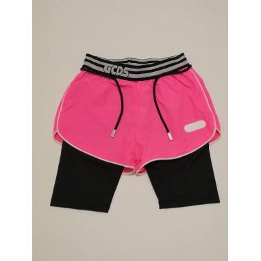 GCDS mini Nylon Shorts - GCDS mini 27664-gcdsmini21