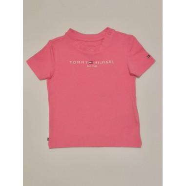 Tommy Hilfiger Kids Pink T-Shirt - Tommy Hilfiger Kids kn0kn01293-thjtommy21