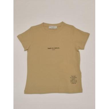 Paolo Pecora T-shirt boy nocciola - Paolo Pecora pp2692-No-paolopecora21