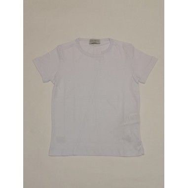 Paolo Pecora T-Shirt boy bianca - Paolo Pecora pp2680-Bi-paolopecora21