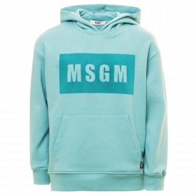 MSGM FELPA CAPP. OVER BOY - MSGM MS028709czmsgm2122