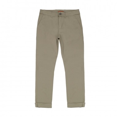 Paolo Pecora Boy Beige Chino Trousers PP1265