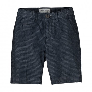 Paolo Pecora Boy Patterned Bermuda Shorts PP1314