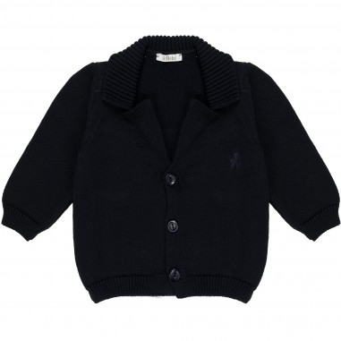 Le Bebé Cardigan in maglia Tinta Unita LBB1076