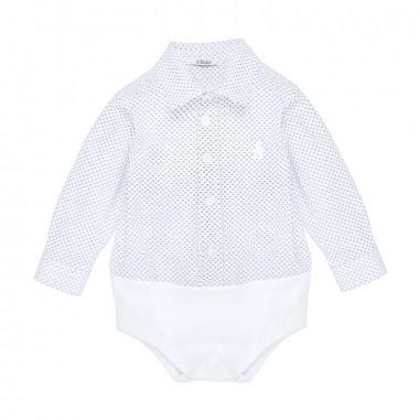 Le Bebé Camicia Body Microfantasia LBB1138
