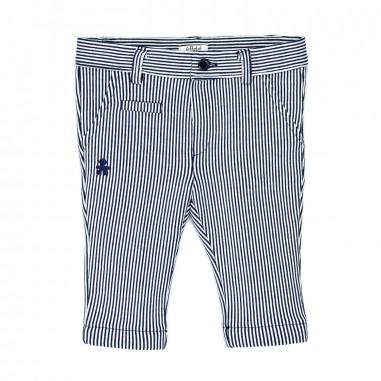 Le Bebé Pantalone neonato Righe LBB1163