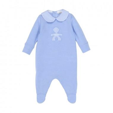 Le Bebé Tutina neonato manica lunga Logo LBB0920