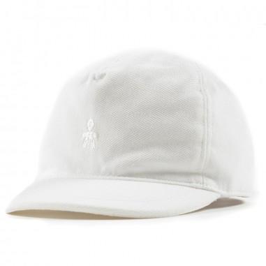 Le Bebé White Logo Hat  LBB0941