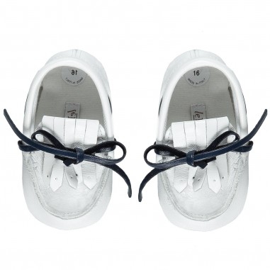 Le Bebé Baby White Slippers LBB1211
