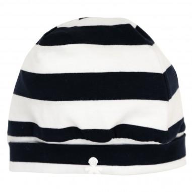 Le Bebé Cappello Righe Risvolto logo LBB1178