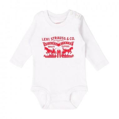 Levi's Set neonato 2 body bianchi NL60014
