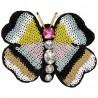 Spilla farfalla per bambina