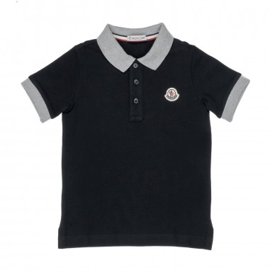 boys moncler polo shirt
