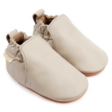 Boumy Baby Hagen Pale Grey Slippers B001-LE003
