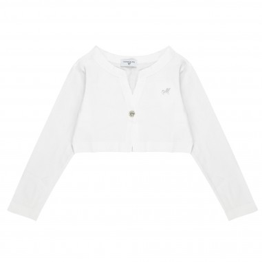 Monnalisa Cardigan jersey cotone 171801