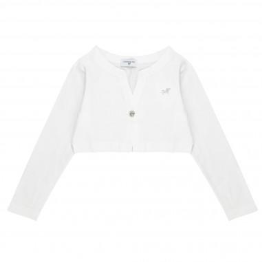 Monnalisa Cotton Jersey Cardigan 171801