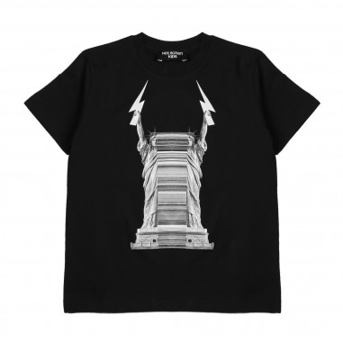 Neil Barrett Kids T-Shirt Jersey  016171-110