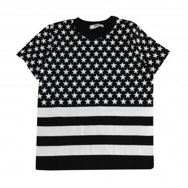 MSGM T-Shirt Jersey Girl 015808-110