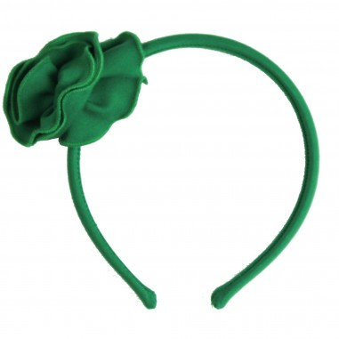Piccola Ludo Cerchietto verde punto milano miates0260003