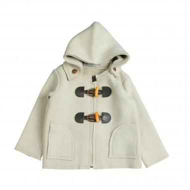 Giorgetti Montgomery beige in misto cashmere per bimbi MB433-Beige