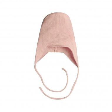 Giorgetti Cappello rosa peruviano cashmere per neonata MB437-Rosa